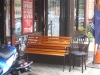 Shopfront Bench & Chair in front of Franklin Deli & Market