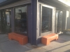 Shopfront Bench in front of Chai Home Kitchen