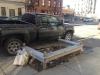 Tree Pit Bench in front of 655 Washington Avenue Brooklyn, New York