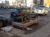 Tree Pit Bench in front of 649 Wasington Avenue Brooklyn, New York