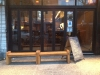 Shopfront Bench in front of Eve's Lounge