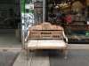 Shopfront Bench  in front of Leekan Designs