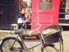 Shopfront Bench & Chair in front of Buvette
