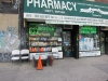 Shopfront Chairs in front of Kings Highway Pharmacy & Medical Supply