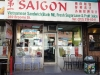 Shopfront Chairs in front of Saigon Vietnamese Sandwich