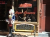 Shopfront Bench in front of Mulberry Street Cigar Company