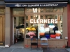 Shopfront Chairs in front of abc Dry Cleaners & Landromat