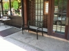 Shopfront Bench in front of Empty Store Front