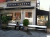 Shopfront Bench in front of Union Market