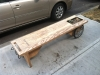 Mobile Bench in front of Prana
